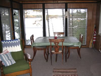 CLICK TO ENLARGE AND ZOOM IN - picture of vacations home on Little St. Germain Lake Twin Waters Rentals in St. Germain Wisconsin on Little St. Germain Lake