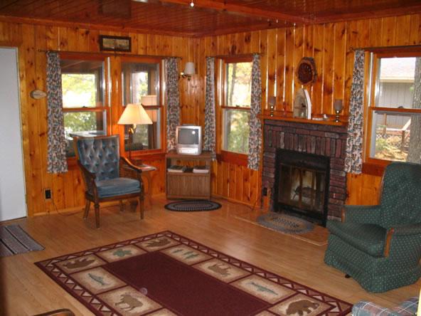 Sunset Pines Cottage Rental St Germain Wisconsin